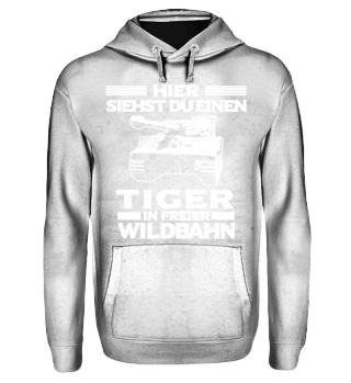 Panzer: Tiger in freier Wildbahn