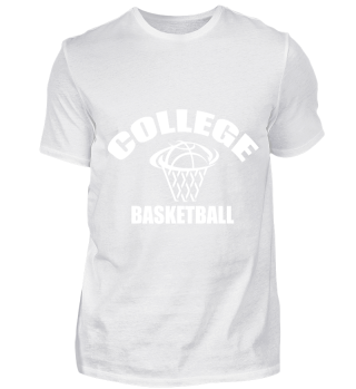 GIFT- BASKETBALL COLLEGE WHITE