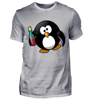 Pinguin Linux Betrunken