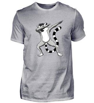 Dabbing Lemur Shirt Funny Dab Dance Pose