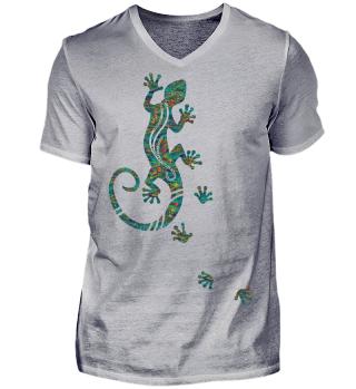 ♥ Ethnological Running Gecko III