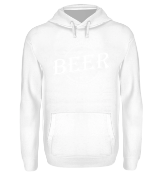 A life without BEER - white Hoodie