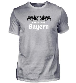Freistaat Bayern Löwe Heimat Tradition