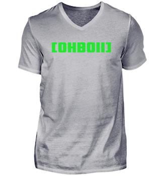 Grass Green Shirt | V-Neck