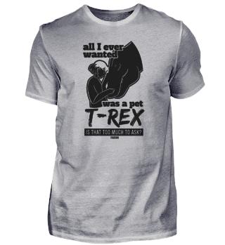 Tyrannosaurus Rex Dino pet Girl