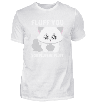 Fluff You baby cat cat gift