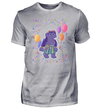Gorilla Mädchen tanzt auf der Party