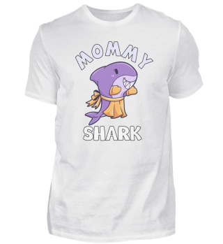 Mommy Shark wife mother mom Hai