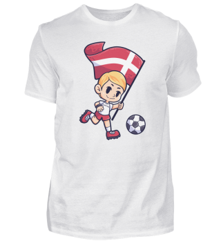 Soccer Denmark flag Young Child Sport