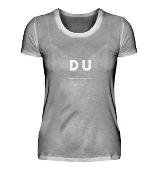 Du - white - Damen