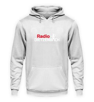 Radio Dietzenbach Hoodie beidseitig weiß