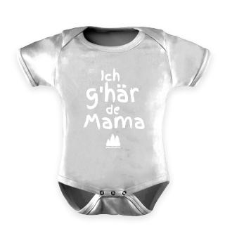 Ich g'här de Mama | Strampler
