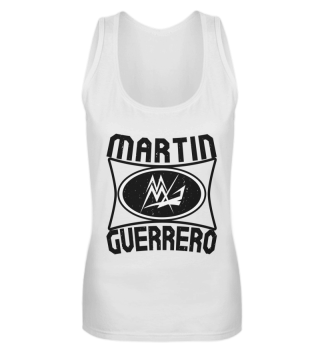 Martin Guerrero Oval Girlie Tank-Top