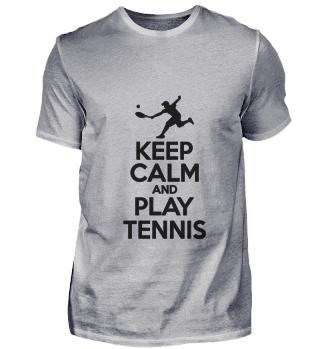 KEEP CALM TENNIS Stay calm and play tenn