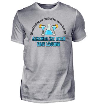 Chemie: Alkohol ist doch eine Lösung!