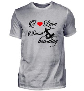 ☛ I LOVE SNOWBOARDING #4SR