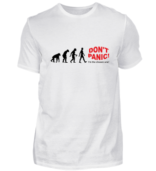 Evolution Of Humans - DON'T PANIC I