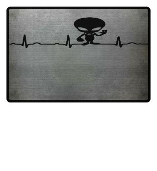 GIFT- ECG HEARTLINE ALIEN