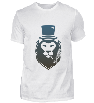 Mens Shirts- Smoking Lion