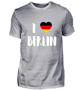 I Love Berlin Germany German City