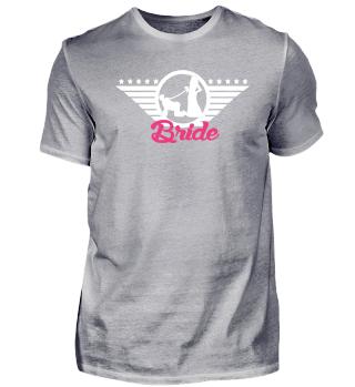 Braut Security Shirt für JGA