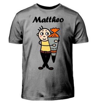 Mattheo - Einschulung I-Dötzchen