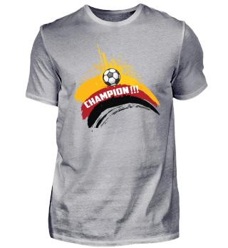 Deutschland Fußball Geschenk Weltmeister