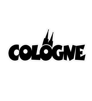 Cologne Köln mit Kölner Dom