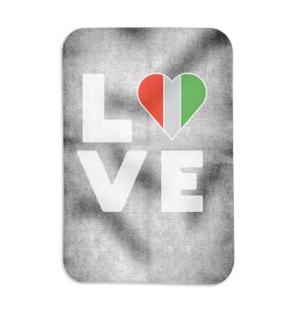 I love LOVE Mexico Flag Flag Heart