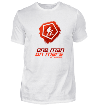 Light supporter OneManOnMars shirt