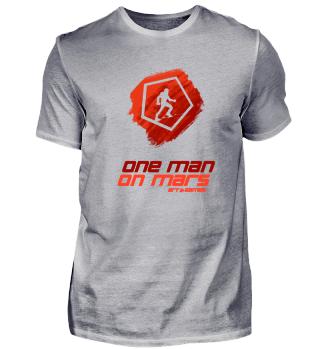Light supporter OneManOnMars shirt