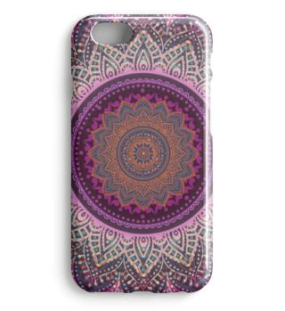 ★ Folklore Lotus Mandala Pink Blue I