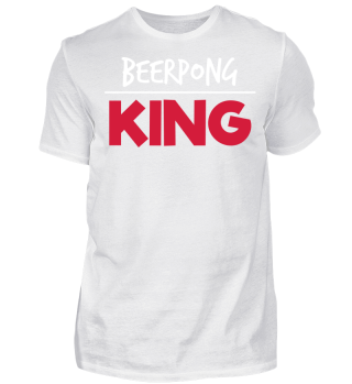 Beer Pong King - Festival T-Shirt