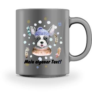 ☛ Merry Christmas · Boho Dog #7CPT