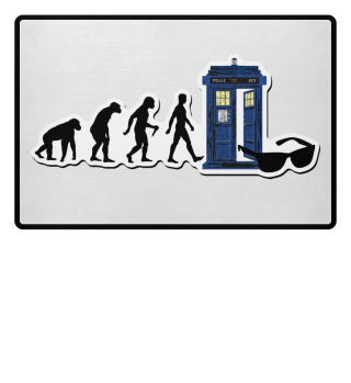 ★ Evolution Of Humans - Police Box 9a