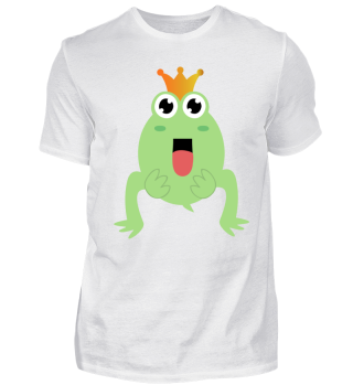 Frog with Crown - gift idea