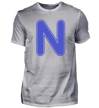 Alphabet - Letter - N