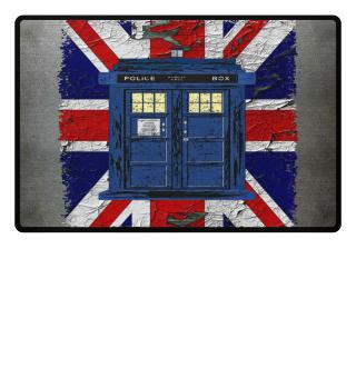 United Kingdom Flag Police Box 3