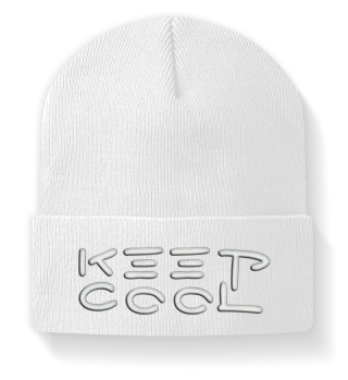 ♥ Embroidery - Keep Cool