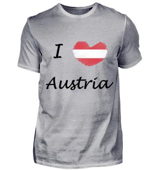 Österreich Austria Love Herz