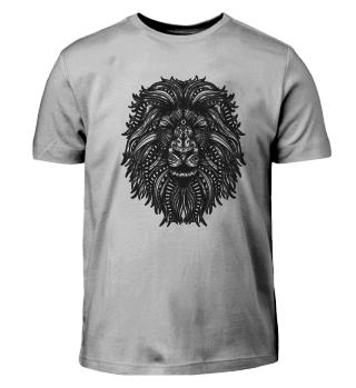 Mandala Löwe Design Geschenkidee