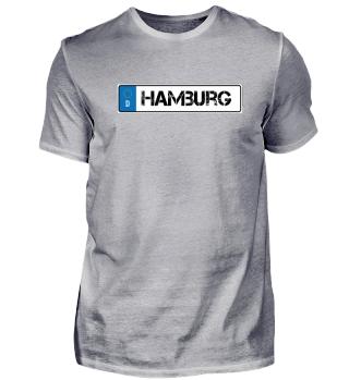 Nummernschild/Hamburg