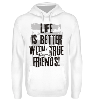 Life is better with true friends Horse 1