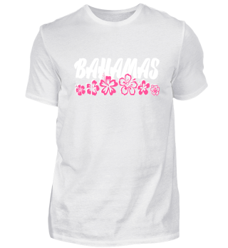Bahamas Tropical Vacation T-Shirt Gift