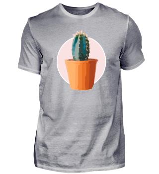 Kaktus - Rosa Pastell - Premium Design