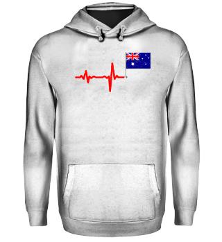 Heartbeat Australia flag gift