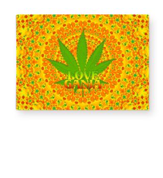 ★ Rastafari LOVE GANJA Mandala I