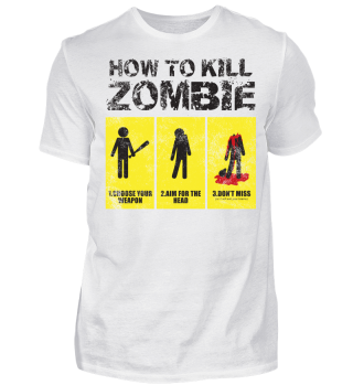 How To Kill Zombie Vintage