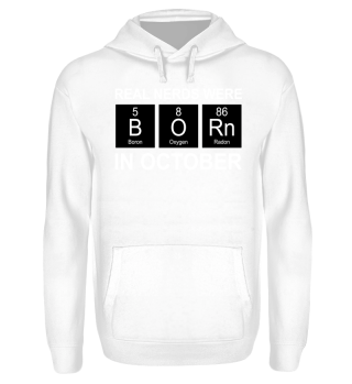 Periodic Elements - BORN october white
