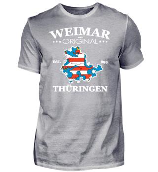 WEIMAR - 100% ORIGINAL THÜRINGEN